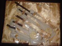oriental chopsticks and table runner