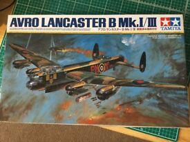 Tamiya 1/48 Scale Avro Lancaster Model Kit