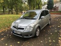 2008 TOYOTA COROLLA VERSO SR D-4D 2.2 DIESEL 7 SEATER **LADY DR OWNER + DRIVES GOOD + SPACIOUS**