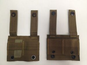 NEW-US-MILITARY-COYOTE-ALICE-ADAPTER-MOLLE-PALS-ALICE-CLIP-US-MILITARY-LOT-OF-2