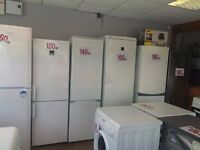FRIDGE FREEZERS FREESTANDING EX DISPLAY AND FREE STANDING EXCELLENT CONDITION