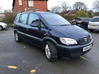 Vauxhall Zafira 1.8 i 16v Comfort 5dr 7 SEAT DRIVES PERFECT NATIONWIDE DELIVERY AVAILABLE!