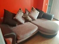 Good as new sofa lounger