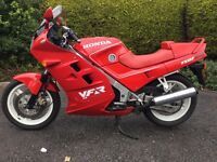 1988 VFR750 Honda with only 19k miles and in great original condition