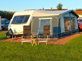 Caravan Awning with bedroom annex