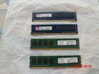 DESKTOP PC RAM MEMORY - 8GB DDR3