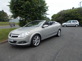 VAUXHALL ASTRA 1.7 CDTI DIESEL DESIGN CONVERTIBLE 2008 ONLY 79K MILES BARGAIN £1950 *LOOK*PX/DELIVER
