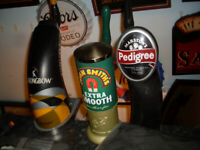 PUB SHED AND HOME BAR ESSENTIALS: - MIRRORS, SIGNS, PUMPS - DECKING BAR, MAN CAVE, WOMANCAVE