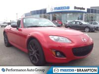 2012 Mazda MX-5 GS RARE RED WITH BLACK HARD TOP