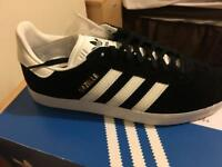 Men's Black Adidas Gazelle Trainers