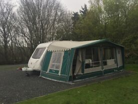 Isobella ambassador awning- excellent condition.