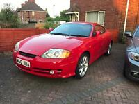 Hyundai coupe 1.6 only 63k miles £500 if sold and collected on bank holiday Monday