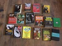 Poker books job lot