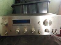Pioneer Vintage Stereo Amplifier SA-508