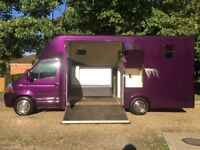 2009 Renault Master 2.5TD Horsebox 3.5t with living 2 Berth - Horse box lorry - May Part Exchange