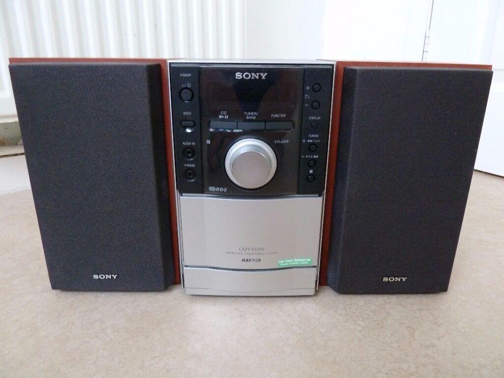 SONY SS CEH 10 MINI HIFI SYSTEM WITH CD TAPE DECK RADIO  : 86 from www.gumtree.com size 1024 x 768 jpeg 77kB