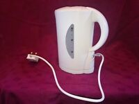 New - White kettle