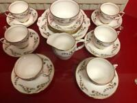 Tea set bone China 20 piece