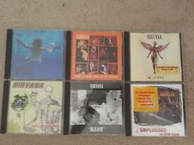 Nirvana CD Music Albums