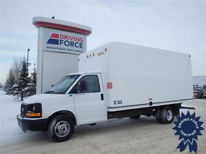 2015 GMC Savana 3500 16 ft Cube Van, 35,825 KMs, 6.0L V8 Gas