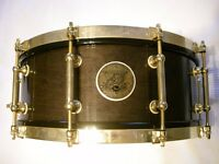 """Pearl M-1946 50th Anniversary solid maple snare drum - 14 x 5 1/2"""" - japan - 1996 #1265/1996"""