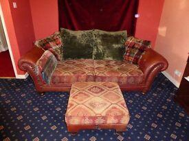 Tetrad Eastwood Midi Sofa and Footstool