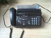 Phone / fax Philips magic vox compact fax machine , useful for home office