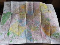Two maps of Paris