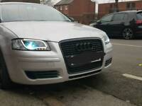 Audi a3 headlights taillights and free front splitter