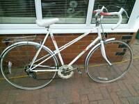Ladies Raleigh racing Bike, touring racer, vintage ladies bike