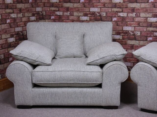 Strange Aria Extra Large 4 Seater Sofa Plus Maxi Snuggler Chair In Grey Fabric Settees In Chigwell Essex Gumtree Andrewgaddart Wooden Chair Designs For Living Room Andrewgaddartcom