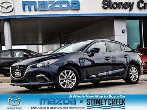2015 Mazda MAZDA3 GS Auto Heated NEW FR/RR Brakes B/UP CAM Alloy
