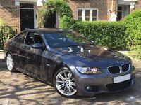 "PRISTINE EXAMPLE! (2007) BMW 320D 2.0 M SPORT E92 AUTO- 18"" ALLOYS - LEATHER - FSH-DIESEL- HUGE SPEC"