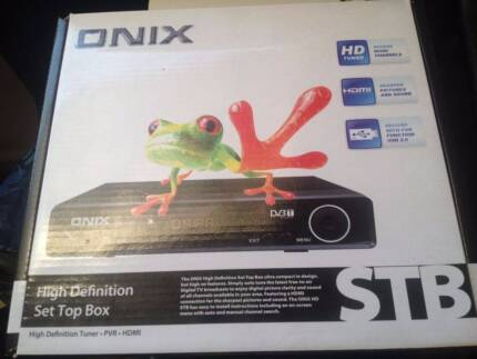 Near New - High Definition Set Top Box Annerley Brisbane South West Preview