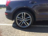 """Swap Audi Q5 RS6 style 21"""" 5x112 Wheels And Tyres"""