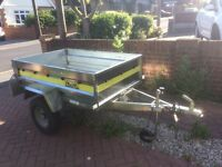 Aluminium camping/general use trailer for sale