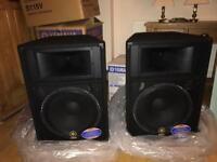 Yamaha S115v pair new in box pa speaker