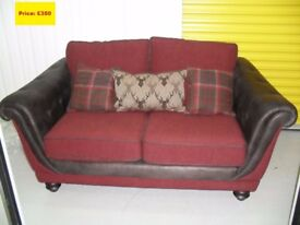 Brand New Argyle Large 2 Seat Sofa (2 Available)