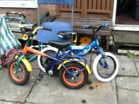 kids bike x2