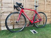 Specialized tarmac SL2 carbon fibre road bike, LIKE NEW, HIGH SPEC, 105