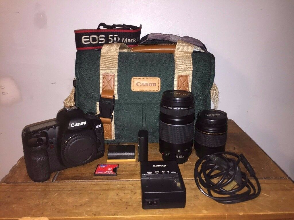 Canon 5D Mark II DSLR Camera - 426 SHUTTER COUNT