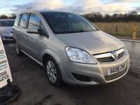 BARGAIN! Vauxhall zafira, 7 seater, full years MOT awaiting preparation