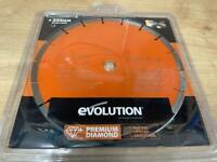 Evolution 255mm Premium Diamond Blade