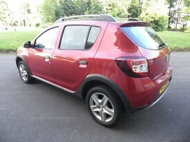 swap! dacia stepway only 18000 full service history great car like new.