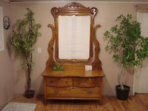 Stunning Antique Victorian Dresser