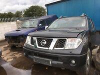 Nissan navara spare parts available rear axel rear springs prop shaft alloy wheels