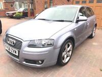 2009 58 Audi A3 Sportback 2.0 TDI SPORT EDITION TURBO DIESEL LOW MILES ONLY 64K METALLIC PAINTWORK