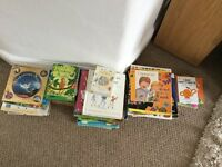 Over 50 children's books, including some classics, going on a bear hunt, Julia Donaldson