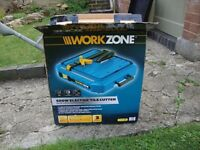 Workzone 500w Electric Tile Cutter with Additional Blades