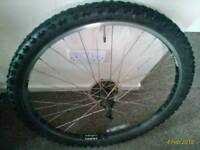 front rear wheels for sale £15